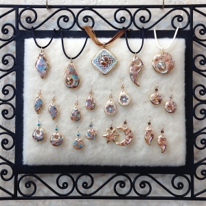 Coordinating Pendants & Earrings