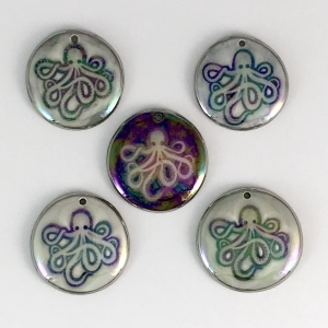 Brand new fresh from the kiln - Octopi! #IPC22