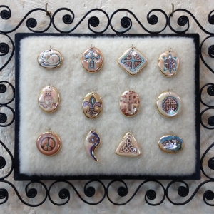 Shades of Brown ~ Image Pendants #IPC23