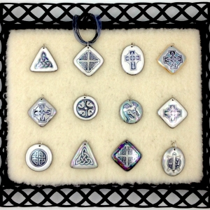 Black & White ~ Image Pendants #IPC20