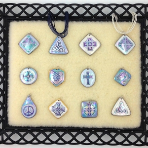Shades of Blue ~ Image Pendants #IPC2