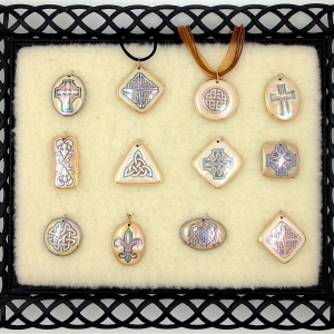 Shades of Brown ~ Image Pendants #IPC15