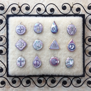 Purple ~ Image Pendants #IPC4